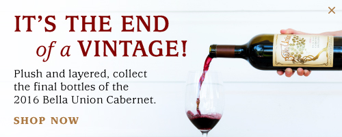 It's the end of a vintage!